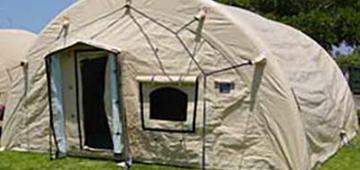 定製生化防護帳篷